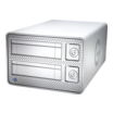 "HD 2000GB G-Tech G-Dock ev Thunderbolt extern 8,9cm (3,5"")"