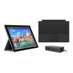 Microsoft Surface Pro 4 PROMO Bundle 8GB 256GB i5 31,2cm Wi-Fi W10P inkl. Type Cover schwarz und DockingStation