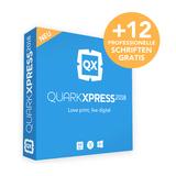 QuarkXPress 2018 Competitive Upgrade Lizenz Win/Mac PROMO INKL. SCHRIFTEN