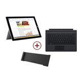 Microsoft Surface Pro 3 8GB 256GB SSD i5 30,5cm W8.1P Bundle (Device,Black Cover,Docking station)