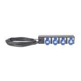 APC Basic Rack PDU Steckdosenleiste 4 Ausgangsstecker 2U 48.3cm (19'')