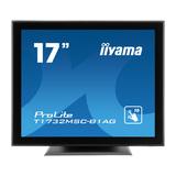 "Iiyama ProLite T1732MSC-B1AG 43 cm (17"") 1280 x 1024 Pixel 1000:1 225 cd/m² 5 ms"