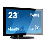 "Iiyama ProLite T2336MSC-B2 58,4 cm (23"") Touchscreen 1920 x 1080 Pixel 1.000:1 250 cd/m² 5 ms"