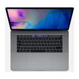 "Apple MacBook Pro 2,6GHz Intel 6C i7 39,1 cm (15,4"") Retina Display Touch Bar Touch ID 16GB RAM 512GB SSD Radeon Pro 555X 4GB spacegrau"