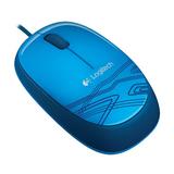 Logitech M105 Mouse blau USB