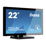 "Iiyama ProLite T2236MSC-B2 54,6 cm (21,5"") Touchscreen 1920 x 1080 Pixel 3.000:1 250 cd/m² 8 ms"