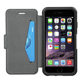 Otterbox Strada Flip Cover For Iphone 6 6s Black