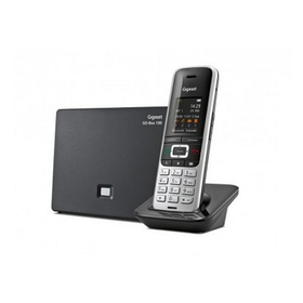 siemens gigaset s850a go schnurloses telefon dect platin. Black Bedroom Furniture Sets. Home Design Ideas