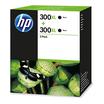 HP 300XL Tintenpatrone 2er Pack Schwarz