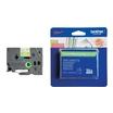 Brother TZe-MQG35 Schriftbandkassette weiß auf grün (matt) für P-Touch GL-H105, PT-1080, 1090, 18, 2430, D200, PT-GL-200, PT-H100, H300, H500, H75, P700