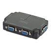 Digitus VGA Splitter 4-Port 350 MHz Schwarz