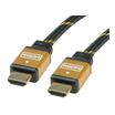 Roline Gold Kabel HDMI Stecker/Stecker 1m