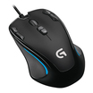 Logitech G300S optical gaming Mouse USB 2500dpi schwarz
