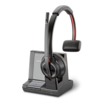 Plantronics Savi 8200 Series W8210-M - Microsoft Headset monaural On-Ear DECT 6.0 / Bluetooth