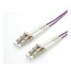 Roline LWL Duplexkabel 50/125µm LC/LC violett 10 m
