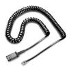 Plantronics U 10 Wendelkabel, Anschluß- und Vista-Zubehör-Kabel