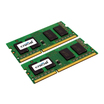 Crucial DDR3 16 GB (2 x 8 GB) SO DIMM 204-PIN 1333 MHz / PC3-10600