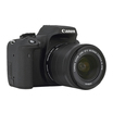 Canon EOS 750D Kit inkl. EF-S 3,5-5,6/18-55 IS STM Digitalkamera schwarz 24,2 MPixel