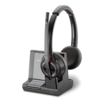 Plantronics Savi 8200 Series W8220-M - Microsoft Headset binaural On-Ear DECT 6.0 / Bluetooth