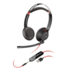 Plantronics Blackwire 5220, Headset binaural mit USB/3.5 mm Klinkenstecker