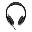 Logitech H540 USB Headset schwarz