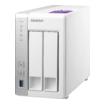 QNAP TS-231P 2-Bay NAS 1,7GHz  512MB 1GB 3x USB3.0 2x RJ45