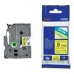 Brother TZE621 Schriftbandkassette schwarz auf gelb für P-Touch GL-H105, PT-1080, 1090, 1290, 2030, 2730, D200, E300, H100, H300, H500, H75, P700