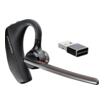 Plantronics Voyager 5200 UC Bluetooth Ohrbügel monaural schwarz