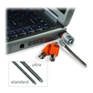 Kensington MicroSaver Keyed Ultra Sicherheitsschlosskabel Stahl 1,8m