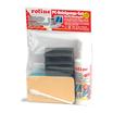 Roline PC-Reinigungsset 8-teilig125ml inkl. Tastaturschwamm/Tupfer/1xReinigungsschwamm/4xTrockentücher