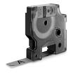 Dymo 1805413 Etiketten erstellendes Band schwarz/grau 12mm x 5.5m