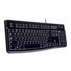 Logitech Tastatur K120 for Business USB schwarz Tastatur-Layout Deutsch