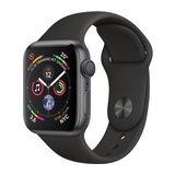 Apple Watch Series 4 40mm GPS Aluminiumgehäuse Space Grau mit Sportarmband Schwarz