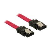 Delock Kabel SATA Stecker/Stecker gerade 0,5m
