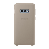 Samsung Leather Cover EF-VG970 für Galaxy S10e, S10e Enterprise Grau