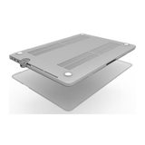 compulocks Security Cover Premium Frost Hard Shell Case mit Ledge T-Bar Lock Adapter für MacBook Pro TouchBar 15'' transparent