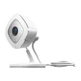 Netgear Arlo Q VMC3040 HD-Kamera-Sicherheitssystem 1080p Wi-Fi 2 Wege Audio Indoor Bewegungssensor Nachtsicht Weiß