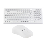 Gett InduProof Med Bundle Tastatur/Mouse-Set USB IP68 Deutsch Weiß