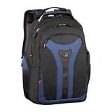 """Wenger Pegasus Rucksack für MacBook 15"""" mit Innentasche für iPad/Tablet Nylon schwarz/blau"""
