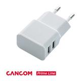 CANCOM Prime Line universal USB Netzteil (5 V / 2,1 A) weiß