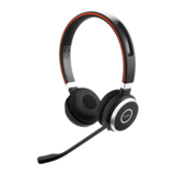 Jabra Evolve 65 MS Duo Headset on-ear drahtlos Bluetooth