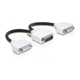 Delock Adapter DMS-59 Stecker zu 2xDVI-I Buchse 0,2m