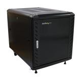 StarTech Office Serverschrank Schwarz 12HE bis max. 800kg
