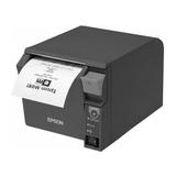 Epson TM-T70II, USB, powered-USB, dunkelgrau