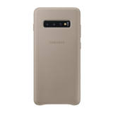 Samsung Leather Cover EF-VG975 für Galaxy S10+ Grau