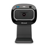 Microsoft LifeCam HD-3000 Webcam Schwarz 720p (1280 x 720 Pixel) Mikrofon USB 2.0