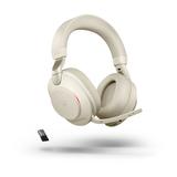 Jabra Evolve2 85 UC, Stereo, USB-A, Beige