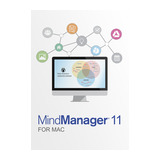 Mindjet MindManager for MAC 11 Single User Lizenz Multilingual