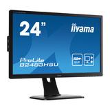 """Iiyama ProLite B2483HSU-B1DP 61cm (24"""") 1920x1080Pixel 1000:1 250cd/m² 1ms"""