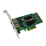 Intel Pro/1000 PT, Dual Port 10/100/1000TX, PCI-Express x4, Bulk,